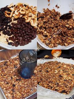 resep granola bars