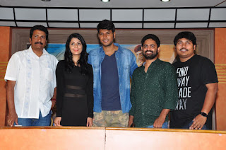 run telugu movie press meet photos