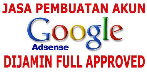 Jasa pembuatan Google AdSense US
