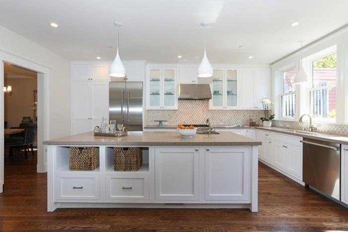 beyaz mutfak dolap modelleri mutfak dekorasyonu