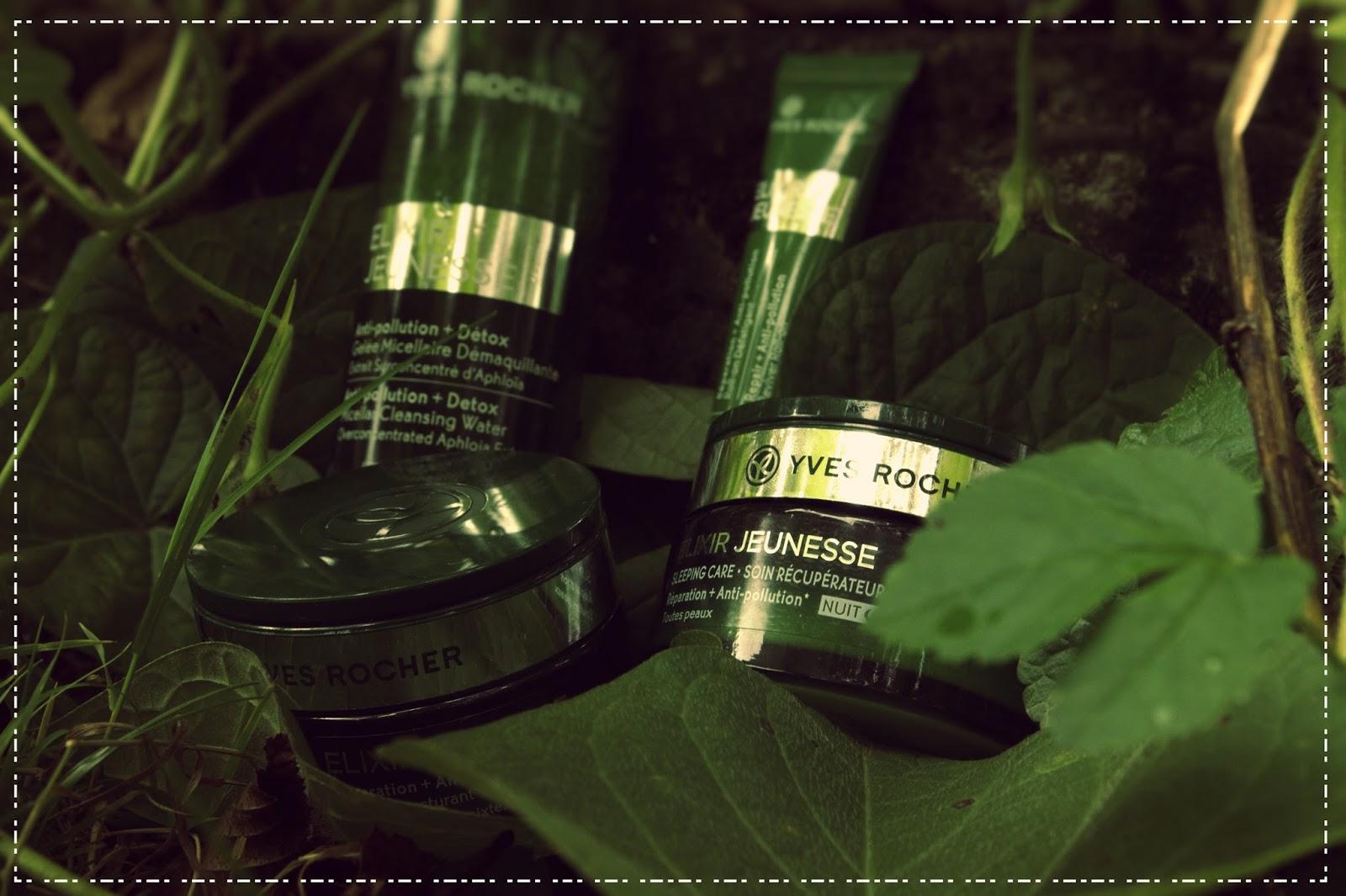 Twoja skóra się starzeje? Zapobiegaj temu  procesowi z linią Elixir Jeunesse od Yves Rocher.