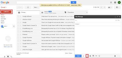 cara daftar email baru
