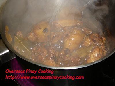 Chicken Humba - Cooking Procedure