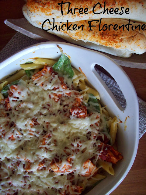 Three Cheese Florentine Chicken #KraftRecipeMakers #shop #cbias