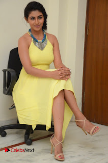 Actress Kruthika Jayakumar Latest Pictures in Yellow Dress  0135.JPG