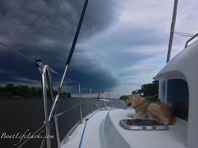 Storm over the ICW, South Carolina