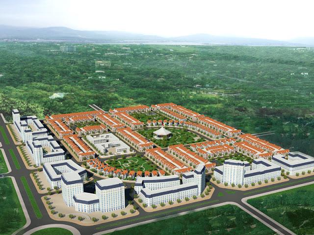 Phối cảnh dự án khu đô thị Dabaco Vạn An