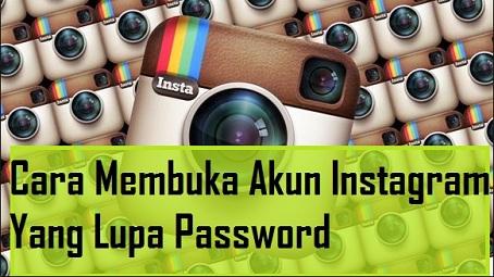 cara melihat email instagram, lupa alamat email instagram, lupa username dan password instagram,