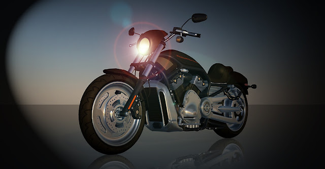 Harley Davidson Bike Light img