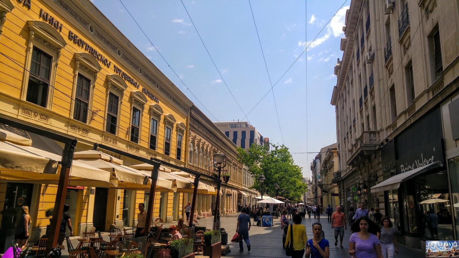 Serbie Belgrade rue Kneza Mihaila