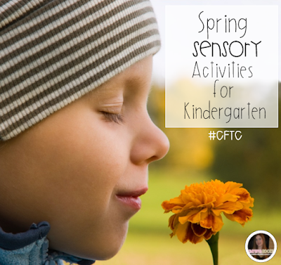 Spring Sensory ELA Activities for Kindergarten