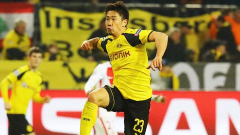 Shinji Kagawa rất hạnh phúc vì được tiếp tục cống hiến cho Dortmund.