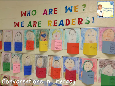 We Are Readers Bulletin Board