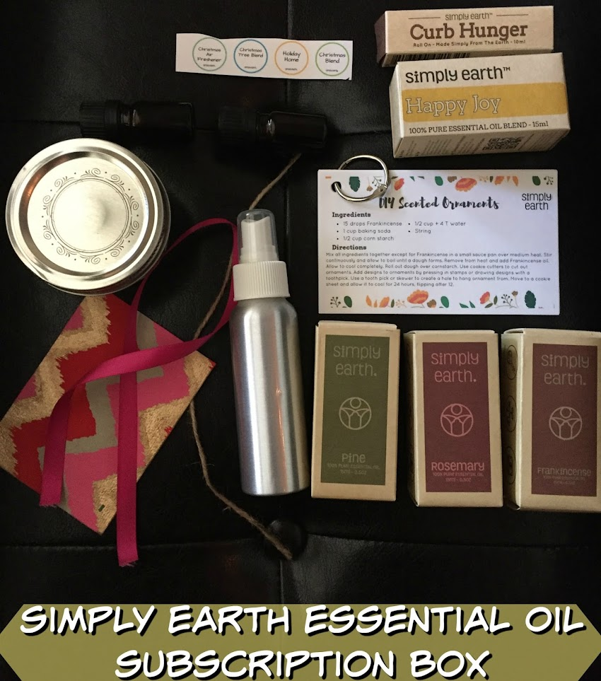 Essential oils monthly: simply earth.