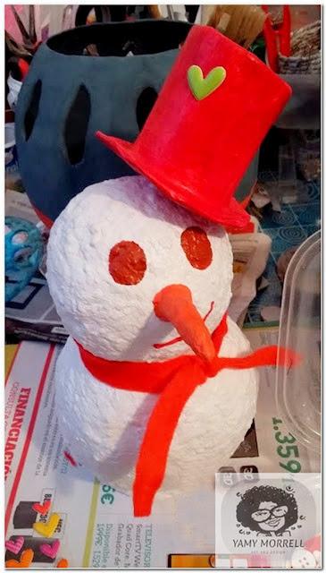 handmade-snowman
