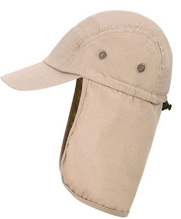 safari neck cap