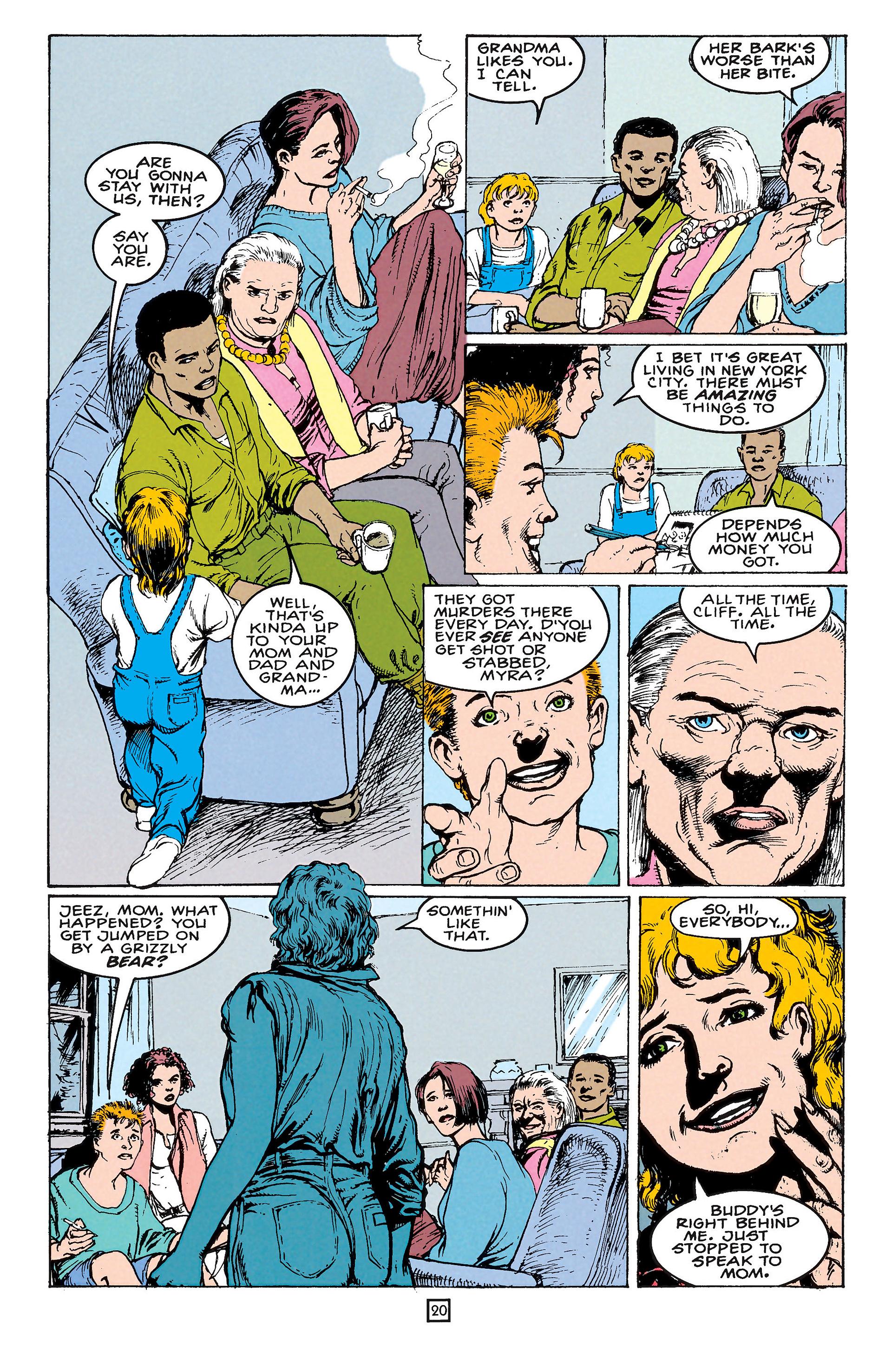 Read online Animal Man (1988) comic -  Issue #65 - 20