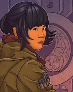 Rose Tico by  Karen Hallion & Alice X. Zhang