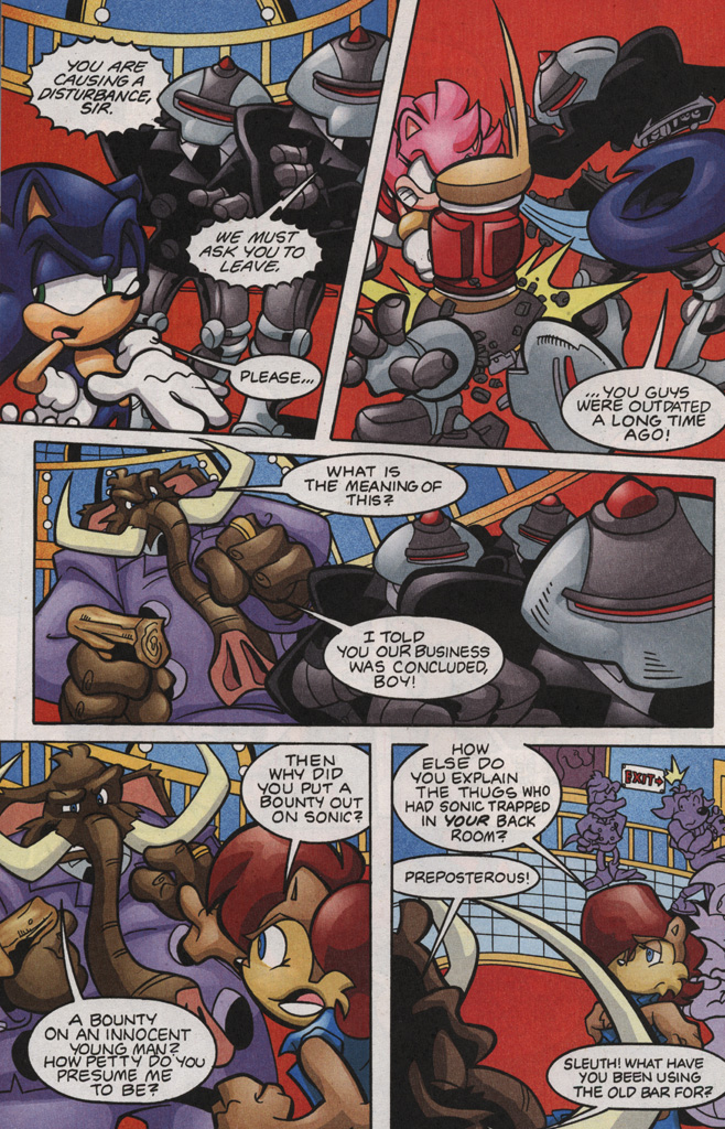 Read online Sonic The Hedgehog comic -  Issue #188 - 22