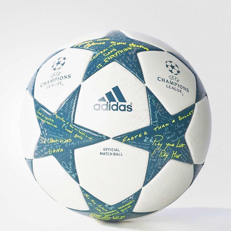 Adidas 16 17 Champions League Ball lanzado Footy titulares