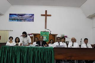 Utus Sambut Pendeta GPIB jemaat SHALOM - 2018
