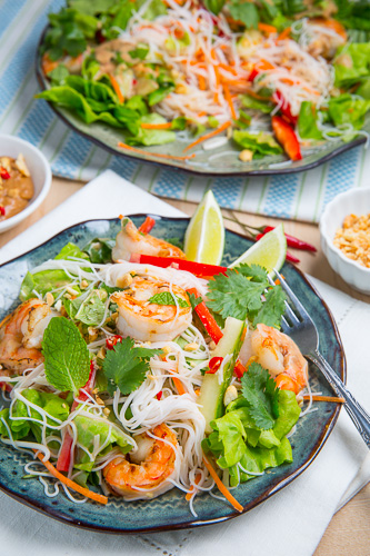 Vietnamese Summer Roll Salad