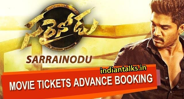 Sarrainodu -Movie -Tickets