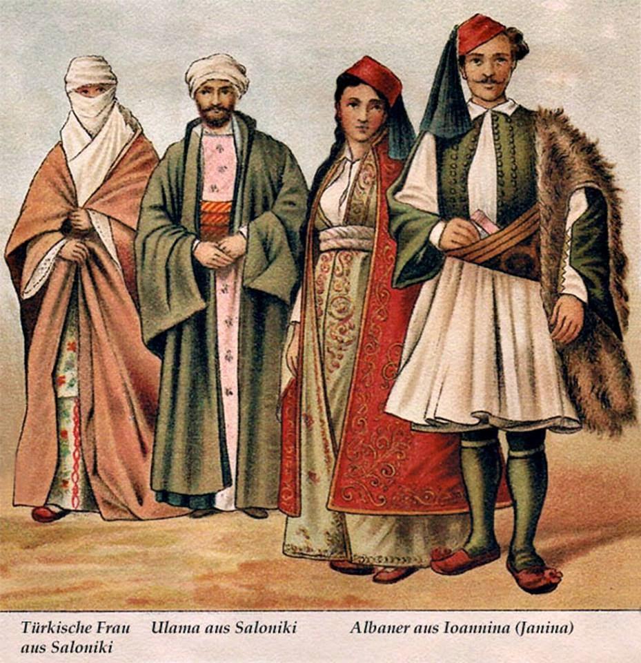 La lingua albanese non è altro che l'Antico Greco ( Philip Hubert Gengembre, 1894)