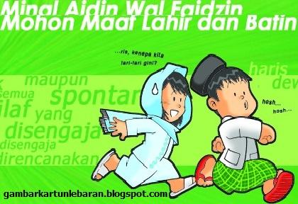 Kartun Lebaran Lucu Nusagates