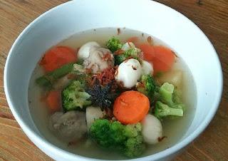 resep sup, sup telur puyuh, resep sup telur puyuh, sup
