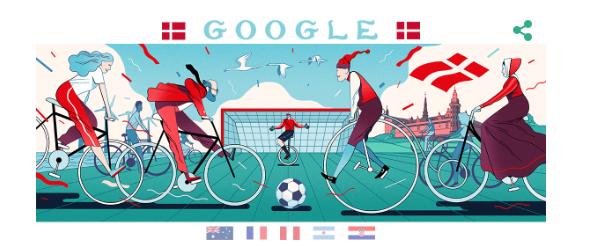 Fifa World Cup 2018 - Day 8  Google Doodle