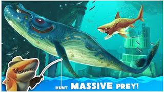تحميل لعبة hungry shark world للموبايل 2019