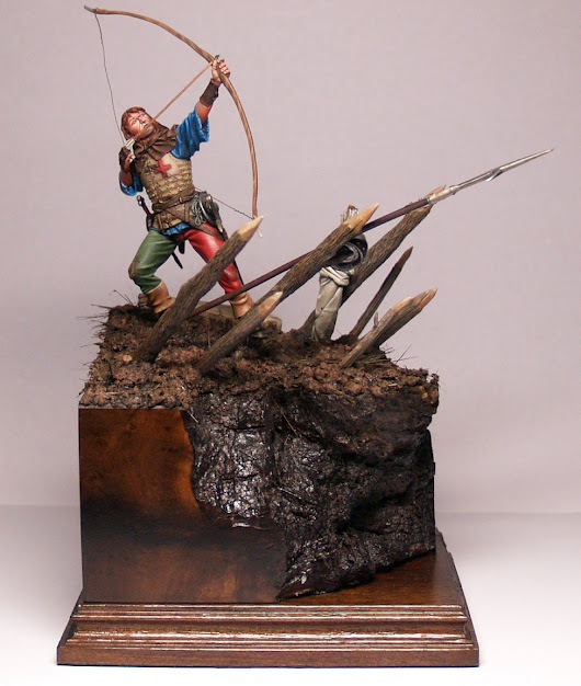 English Longbowman 75mm by Alexandros Models