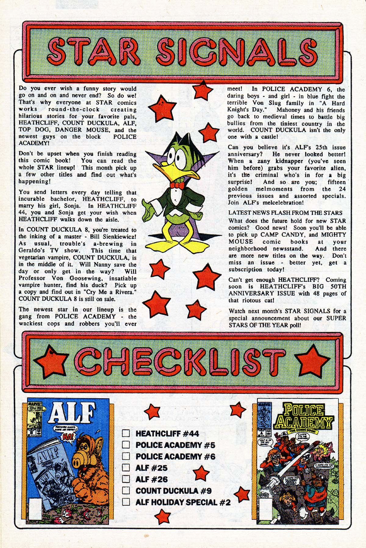 Read online ALF comic -  Issue #27 - 21