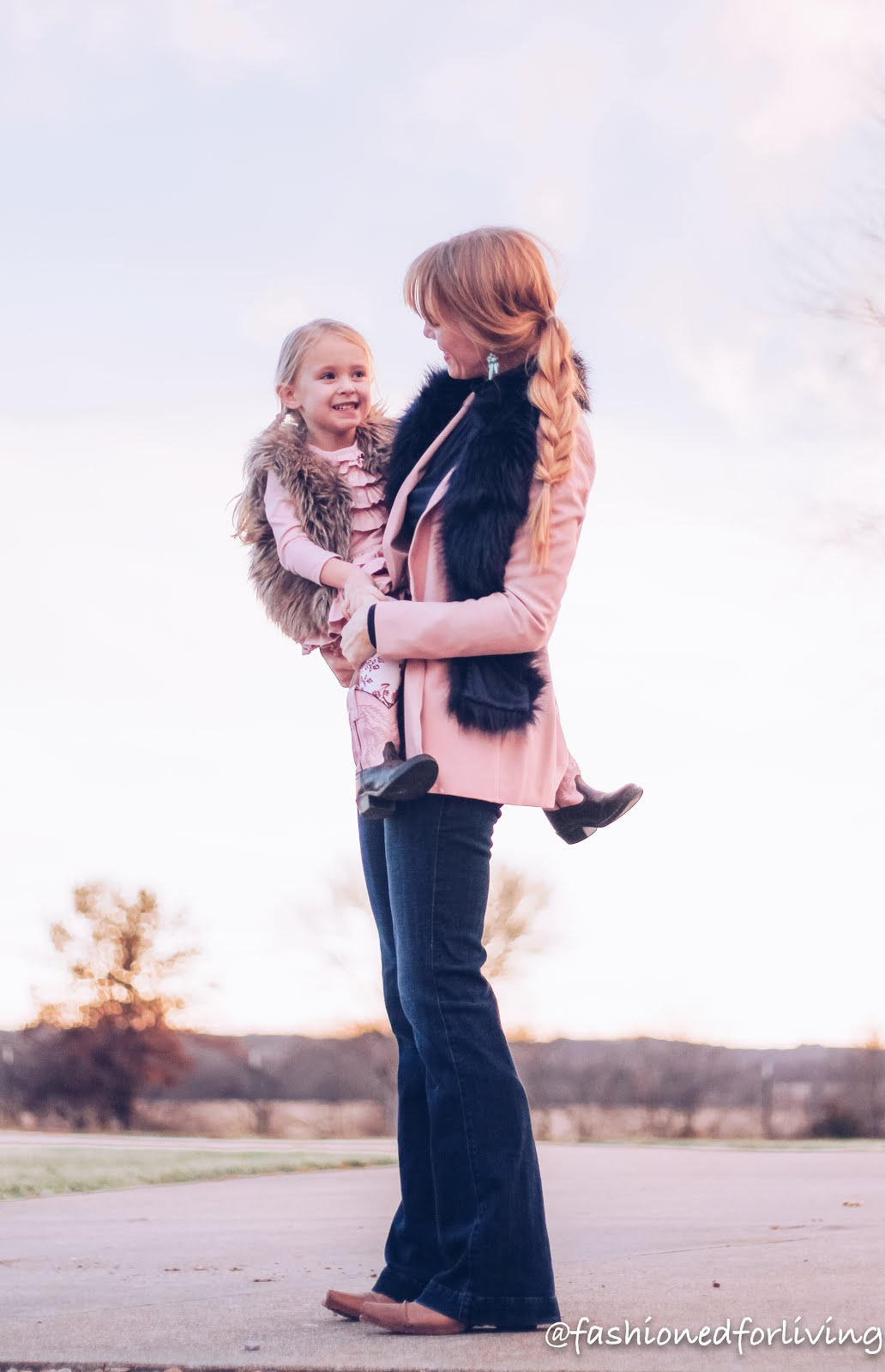 mother daughter cowboy boots outfits. mommy and me outfit