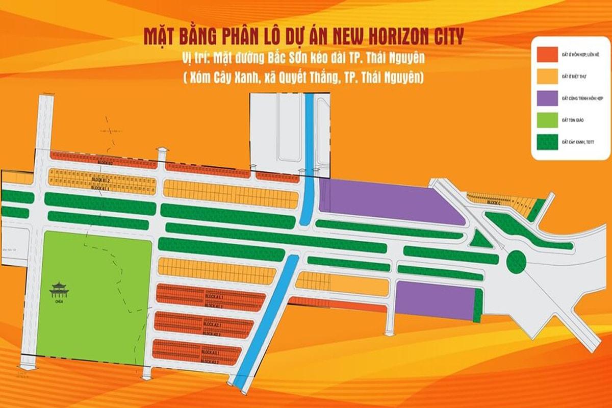Mặt Bằng Dự Án New Horizon City