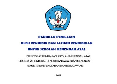 Panduan Penilaian Kurikulum 2013 SMA sesuai Permendikbud No 23 Tahun 2016 Revisi 2017