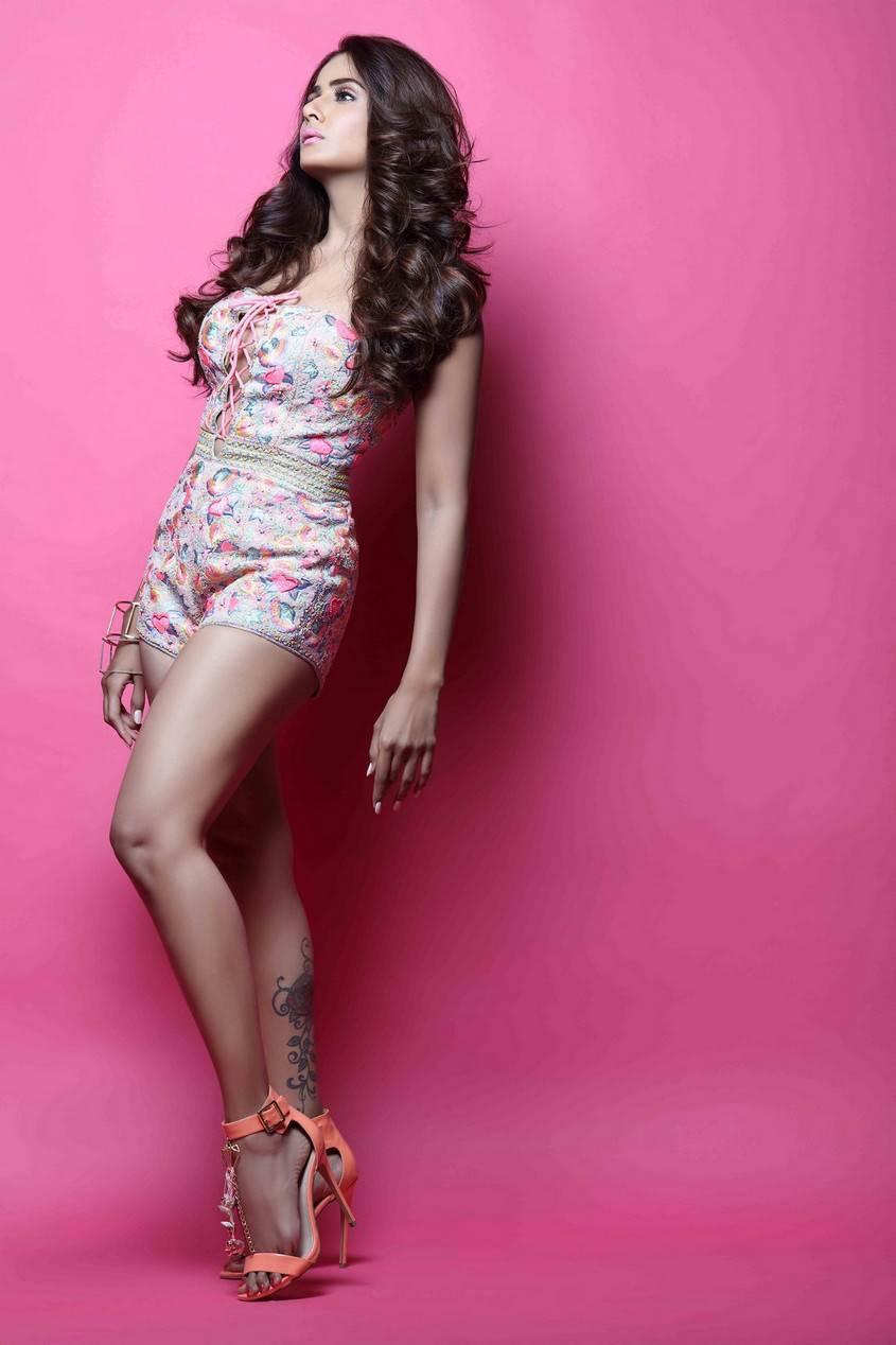 Parul Yadav Hot Legs Show Photoshoot