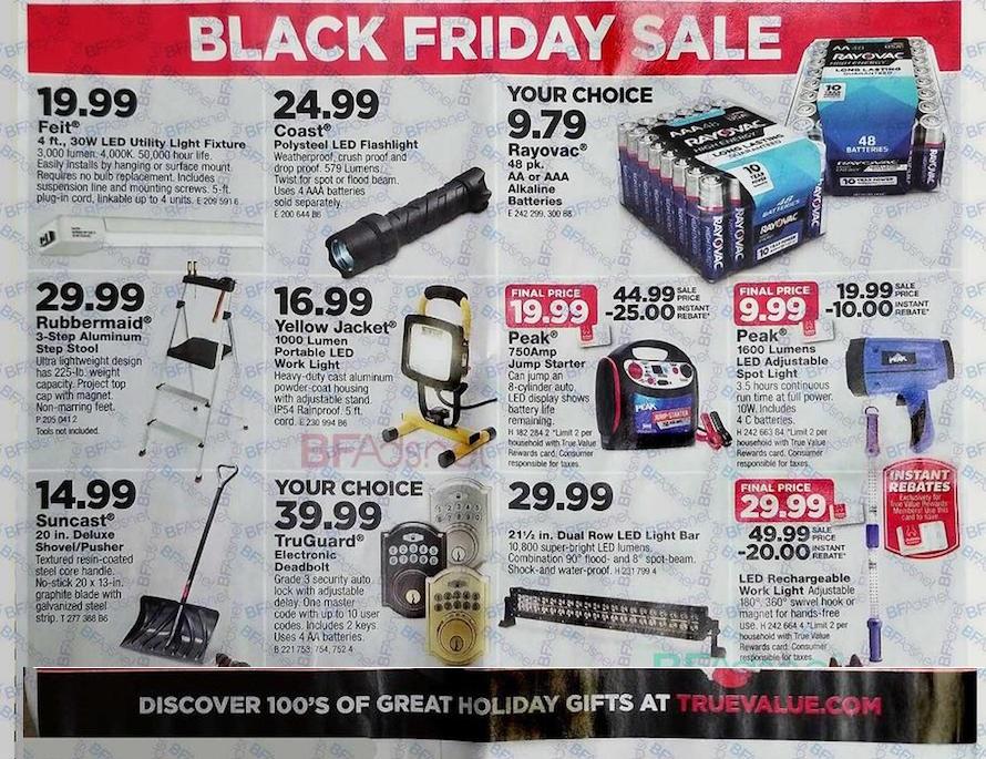 True value Black Friday tools 2018 ad