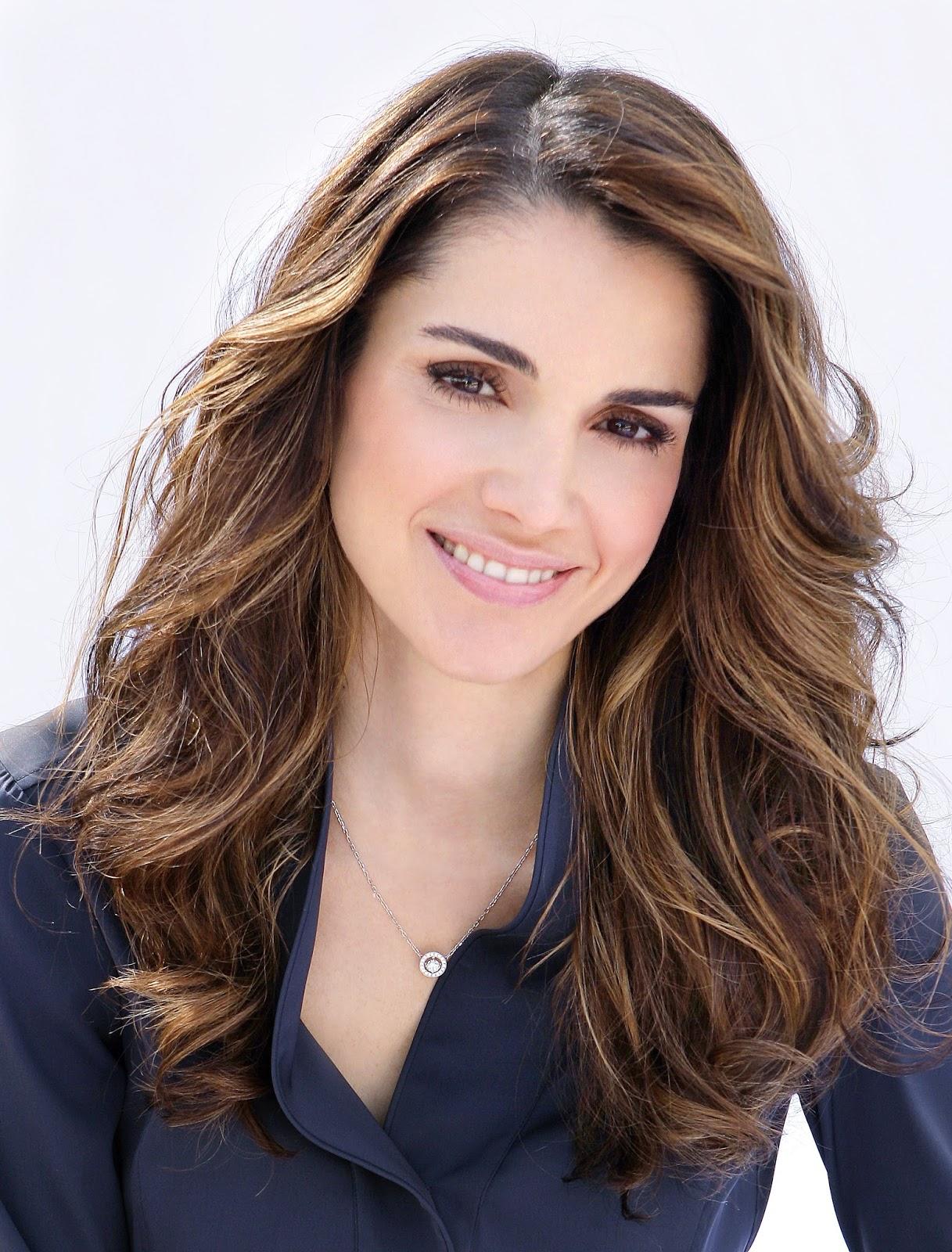 EBL: Queen Rania al Abdullah of Jordan Rule 5 Queen Rania Al Abdullah