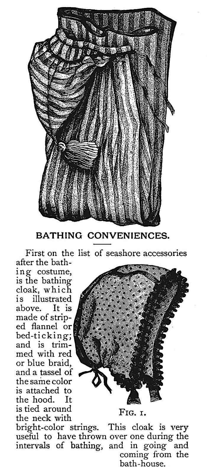 1883 women's swimwear advertisement