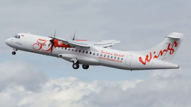 Pesawat Wings Air Terbang Miring, Penumpang Ungkap Terjadi Goyangan Aneh Hingga Kembali Mendarat