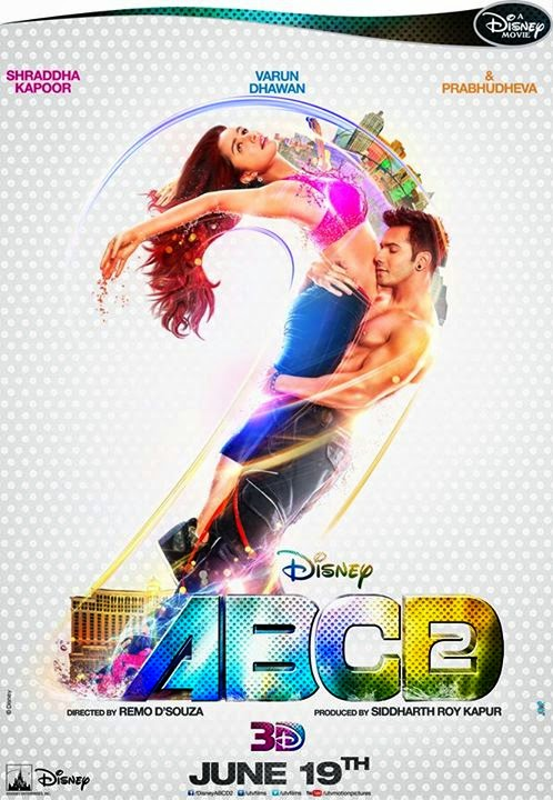 Shraddha Kapoor, Varun Dhawan 2015 Movie ABCD 2 is collect 67.00 Crores and it budget (Cost) 60 Crores.