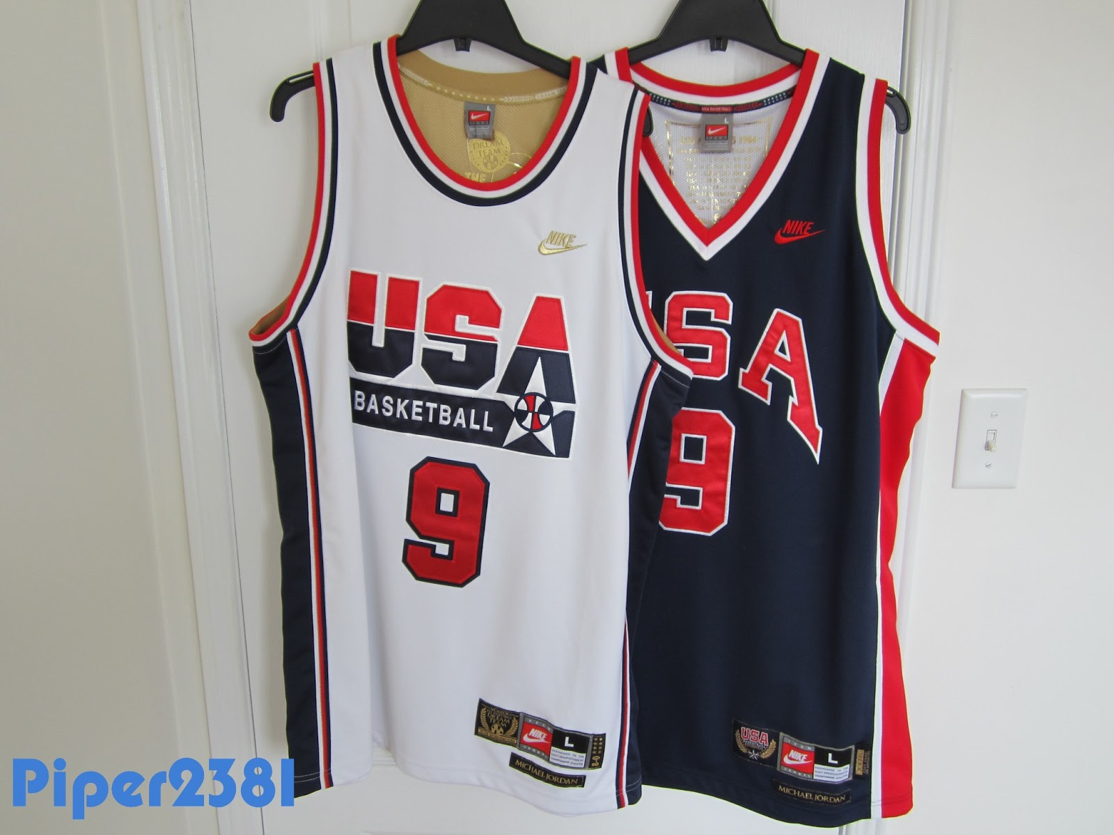 official photos 7cf77 dc167 Piper2381: Michael Jordan Olympic Jerseys