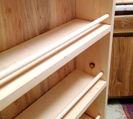 Build a DIY Slide Out Pantry