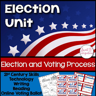 "Click to buy the ""Election and Voting Process"" resource!"