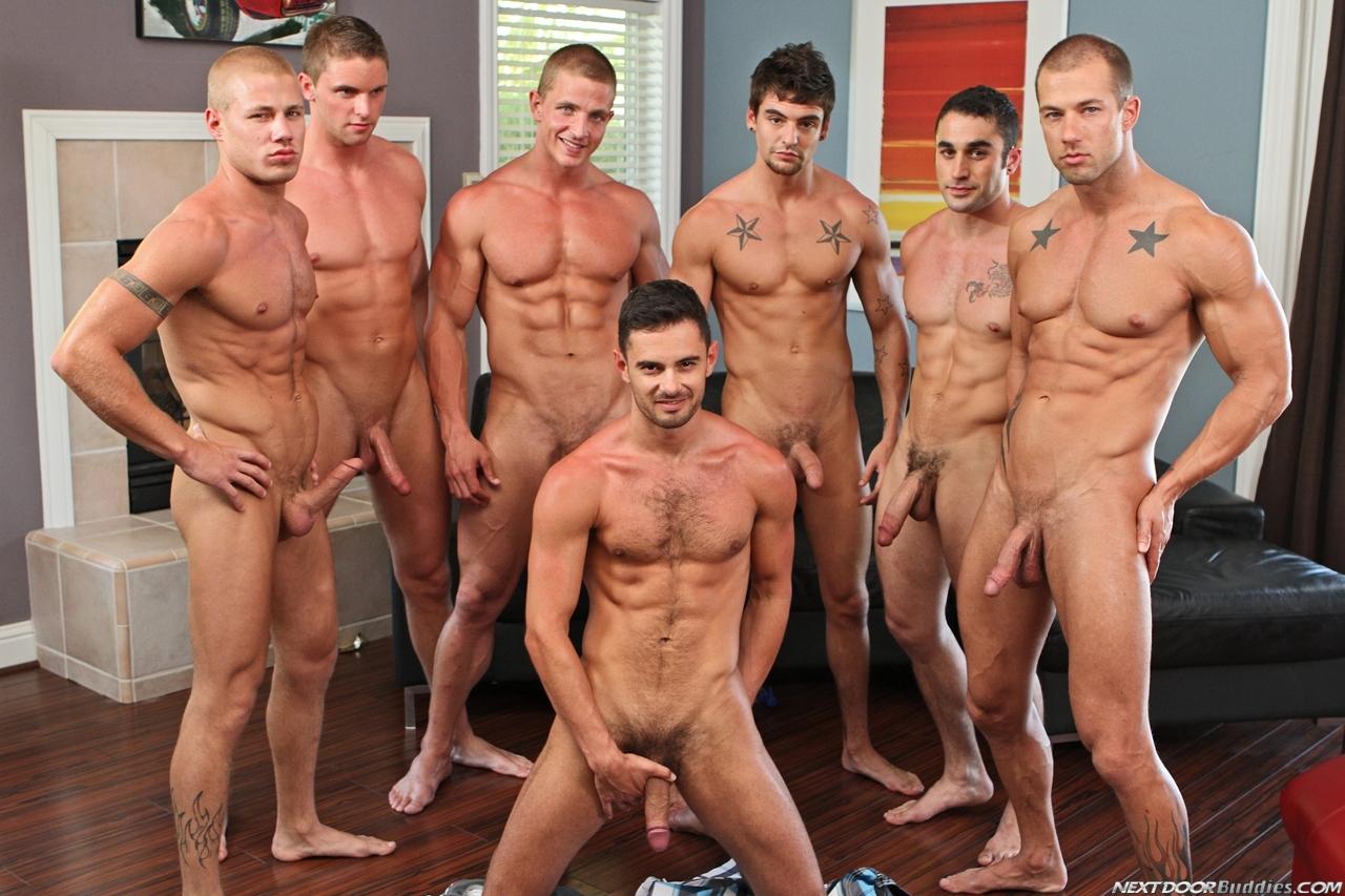 Men Clothed To Naked Seven Naked Hunks-2275