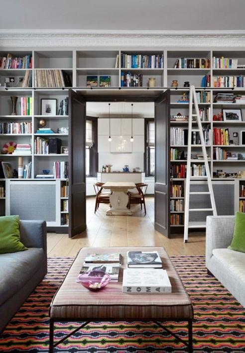 Inspiracje W Moim Mieszkaniu Miejsce Książek W Domu Czyli Domowa