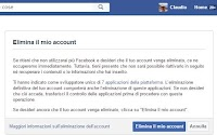 Come eliminare il profilo Facebook e cancellare l'account