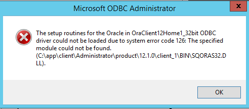 oracle odbc